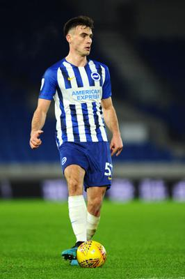 Warren O'Hora of Brighton and Hove Albion. (Photo by Alex Burstow/Getty Images)
