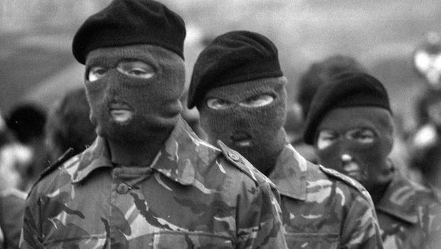 Paramilitary punishment: 'It may be that the IRA believes the use of guns, rather than iron bars and cudgels, conveys the impression of a military force in action rather than vigilante thugs. Self-image matters in the paramilitary mindset.' Photo: PA