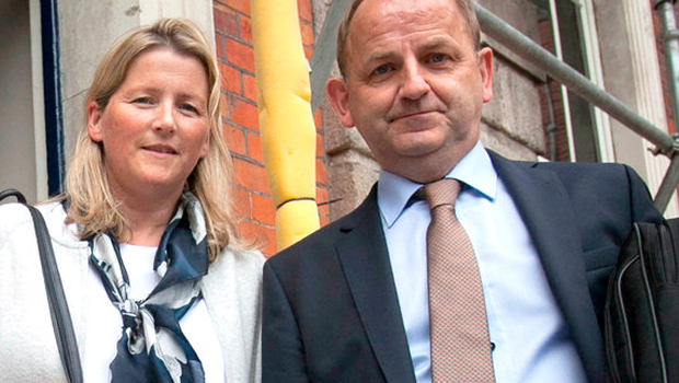 Maurice McCabe and his wife Lorraine