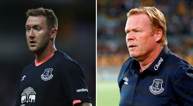Aiden McGeady's chances of staying at Everton look slim