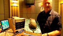 Ronan Collin celebrated 30 years on the airwaves today  His RTE Radio One colleagues presented him with a special cake today    Pic: RTE