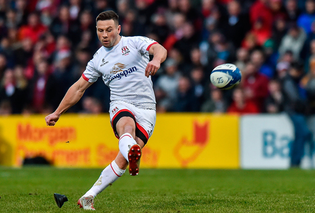 John Cooney remains the country's most in-form player as for the third Champions Cup game running, he was Ulster's match-winner. Photo by Oliver McVeigh/Sportsfile