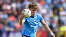 Seán Bugler made his debut for Dublin in the Super 8s against Tyrone last August. Photo by Oliver McVeigh/Sportsfile
