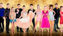 The contestants (from left) Des Bishop, Aidan O'Mahony, Denise McCormack, Des Chaill, Katherine Lynch, Daryl Cronin, Aoibhin Garrihy, Dr Eva Orsmond, Thalia Heffernan, Hughie Maughan and Teresa Manion
