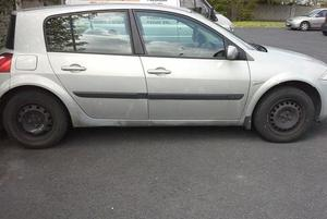 The 2003 Renault Megane which Lorna hopes to sell for €650