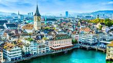 Gap: Only Switzerland has a more expensive property market relative to income
