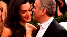Amal Clooney and George Clooney arrive at the 2015  Metropolitan Museum of Art's Costume Institute Gala benefit in honor of the museums latest exhibit China: Through the Looking Glass