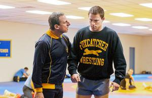 Steve Carell has been nominated for a Golden Globe for his role in Foxcatcher.