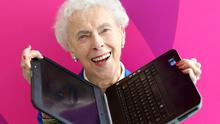 Doreen Thew, a 92-year-old nursing home resident from Maynooth, Co Kildare, is this year's overall winner of the 2017 open eir Silver Surfer Awards.