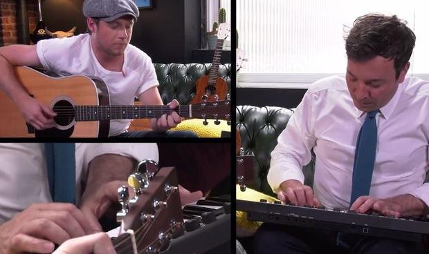 Jimmy Fallon plays Instant Song Challenge with Niall Horan