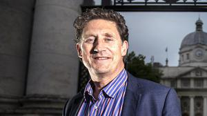 TEAM: Greens' Eamon Ryan was criticised over number of advisers. Photo: David Conachy
