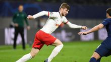 RB Leipzig's Timo Werner in action. Photo: Annegret Hilse/Reuters