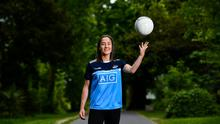 Dublin Senior Ladies footballer and All-Ireland winner Éabha Rutledge pictured at Deer Park Mount Merrion in Dublin. Photo by David Fitzgerald/Sportsfile