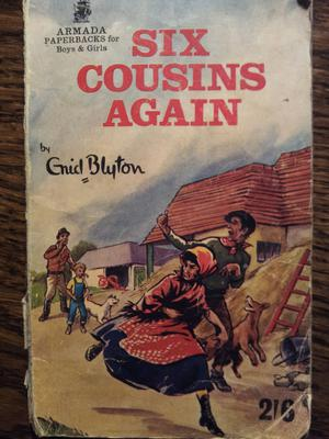 """Hatred is so much easier to win than love - and so much harder to get rid of.""  Six Cousins Again by Enid Blyton"