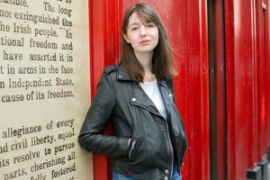 Dreamed up: Author Sally Rooney 'doesn't want to open herself up to too much of what is said about the show'. Photo: Tony Gavin