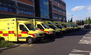 Pickets are due to be placed at ambulance depots across the country from 7am tomorrow. Stock picture