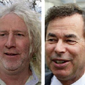 Independent TD Mick Wallace and, right, Alan Shatter