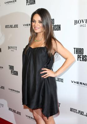 """Actress Mila Kunis attends the premiere of Sony Picture Classics' """"Third Person"""" at Linwood Dunn Theater at the Pickford Center for Motion Study on June 9, 2014 in Hollywood, California.  (Photo by Frederick M. Brown/Getty Images)"""