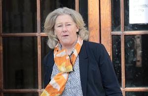 Hearing: Jacqueline Howard said she fell after the bus moved off 'suddenly'. PHOTO: Collins