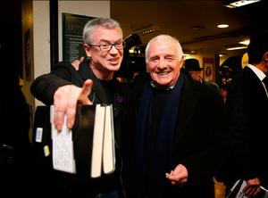 Eamon Dunphy and Joe Brolly