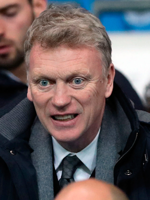 David Moyes was impressed by City. Photo: PA