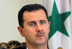 Syrian President Bashar Assad has been boosted by the presence of thousands of Hezbollah Shiite fighters in the war in Syria. AP Photo/Vahid Salemi, File