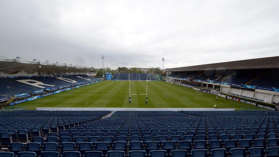 The RDS in Dublin will host Leinster rugby game on Friday. Photo: AFP/Getty