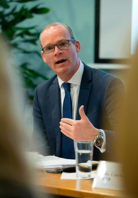 Housing Minister Simon Coveney Picture: Colm Mahady/Fennell