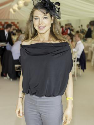 Fiona Feeley pictured at the 150th Dubai Duty Free Irish Derby at the Curragh Racecourse on Saturday 27th June. Photo Anthony Woods.