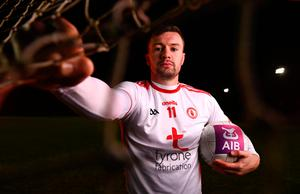 BACK HOME: Tyrone Footballer Conor McKenna at AIB's launch of the GAA All-Ireland Senior Football Championship. Pic: Sportsfile
