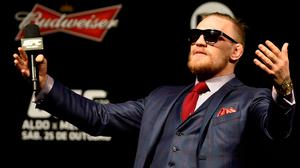 The Notorious King Krunch retails at €17.50 and its creators hope to sell enough boxes to cover their flights to Las Vegas to see McGregor and Aldo fight