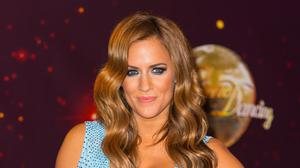 Caroline Flack attending the launch of Strictly Come Dancing 2014 (PA)
