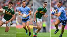 Sean O'Shea, Ciaran Kilkenny, David Clifford and James McCarthy