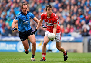 Jamie O'Sullivan escaped the attentions of referee Padraig Hughes after his elbow appeared to come in contact with Diarmuid Connolly's jaw after the Dublin forward had passed the ball