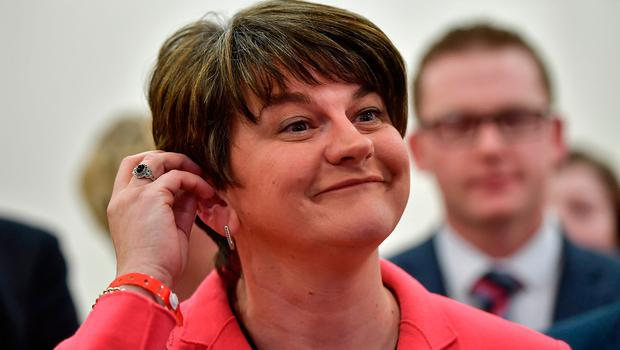DUP leader Arlene Foster. Photo: Charles McQuillan/Getty Images
