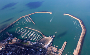 Dun Laoghaire Harbour. Photo: Irish Air Corps