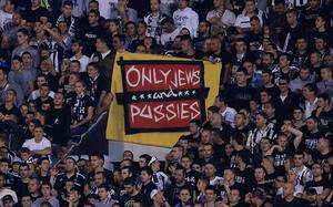 Spurs fans were greeted with an antiSemitic banner at their Europa League tie away to Partizan Belgrade