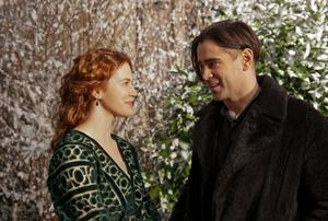 Jessica Brown Findlay and Colin Farrell in Winter's Tale