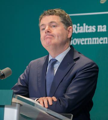 Finance Minister Paschal Donohoe will meet with bank chief executives on how the industry is responding to the fall-out.