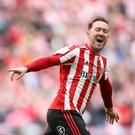 The last public image of Aiden McGeady wearing Sunderland gear was taken last December in a McDonald's restaurant hours after being an unused substitute in a League One defeat to Gillingham. Photo by James Williamson - AMA/Getty Images