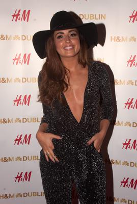 Nadia Forde  at the opening night of H&M's flagship store in College Green,Dublin. Photo:  Gareth Chaney Collins