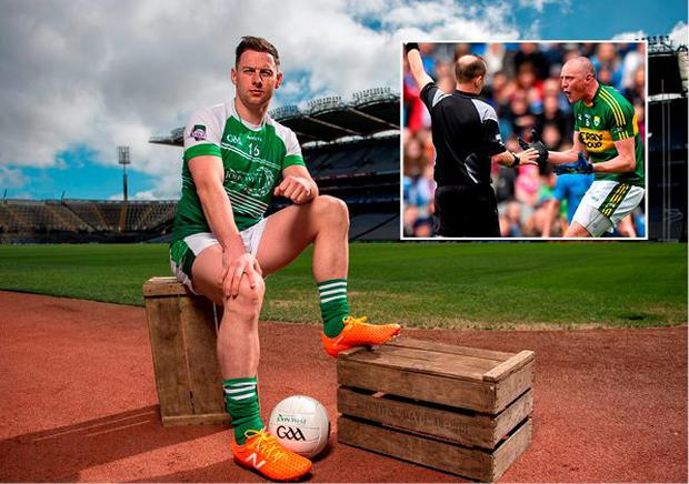 Dublin senior footballer Philly McMahon at launch of the John West, one of the world's leading suppliers of fish, partnership deal with the GAA Féile competition at Croke Park