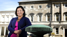 HER CALL: Mary Lou McDonald doesn't need sign-off on a front bench from the ard comhairle. Photo: David Conachy
