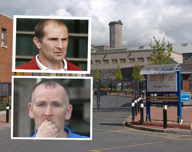Jason Halpin (top) and Gerard Halpin were attacked in Mountjoy Prison