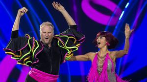 One step beyond: Fred Cooke and Giulia Dotta put on a great show in 'Dancing With The Stars' but missed out on the final. Photo: Kyran O'Brien