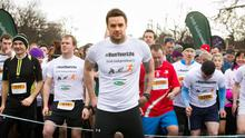 Bressie at the start of the 5k of the Irish Independent My1000Hours 5k/10k in association with Berocca in the Phoenix Park . Photo: Tony Gavin 7/3/2015