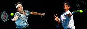 Roger Federer and Rafael Nadal will face off in the final of Australian Open (Photo by Clive Brunskill/Getty Images)