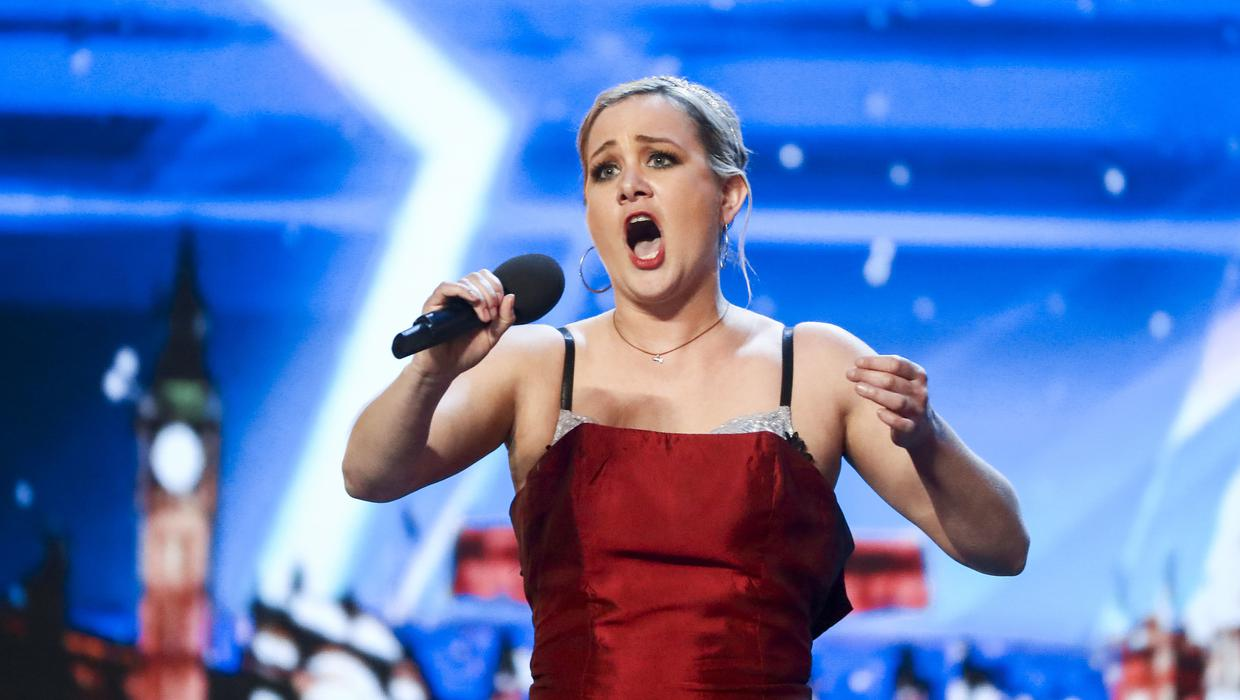 Cake Eating Opera Singer Takes On Britain S Got Talent Independent Ie