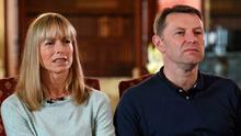 Parents of Madeleine McCann, Kate and Gerry McCann. Photo: Joe Giddens/PA Wire