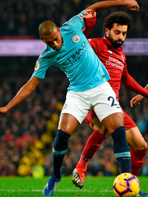 Fernandinho embodied the ability some players have to combine high concentration with physical commitment and accuracy. Photo: Getty